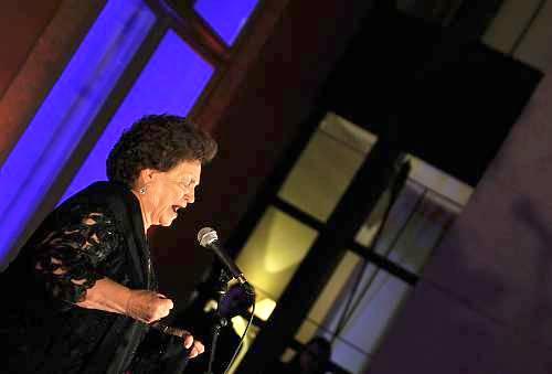 A woman performs Fado, the Portuguese musical tradition. (Courtesy UNESCO)