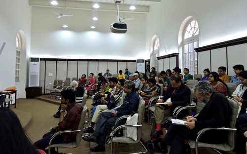 Audience members at the conference on Prevention of Mass Violence and Promotion of Tolerance at Presidency University in Kolkata, India on February 28th, 2017 (Minghui.org)