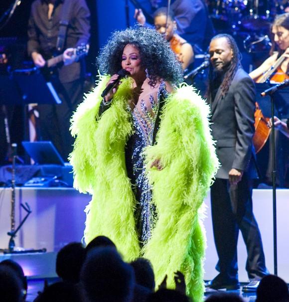 Diana Ross performing at  Radio City Music Hall  May 19, 2010 in New York City ( Rick Gilbert/Skyhook Entertainment)