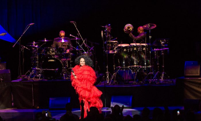 Diana Ross performing at New Jersey Performing Arts Center in Newark, NJ on August 16, 2013. ( Rick Gilbert/Skyhook Entertainment)