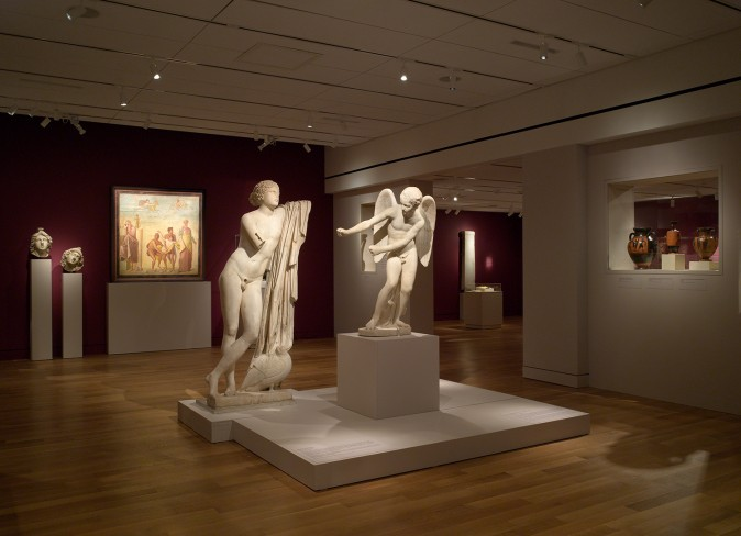 """A World of Emotions: Ancient Greece 700 BC – 200 AD,"" exhibition at the Onassis Cultural Center, New York, March 9 – June 24, 2017. (Courtesy of Onassis Cultural Center New York)"
