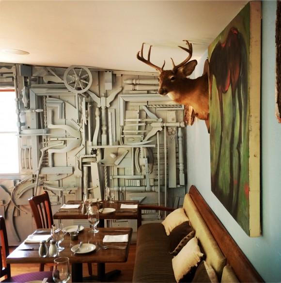 Interior of Peekamoose Restaurant. (Courtesy Peekamoose Restaurant)