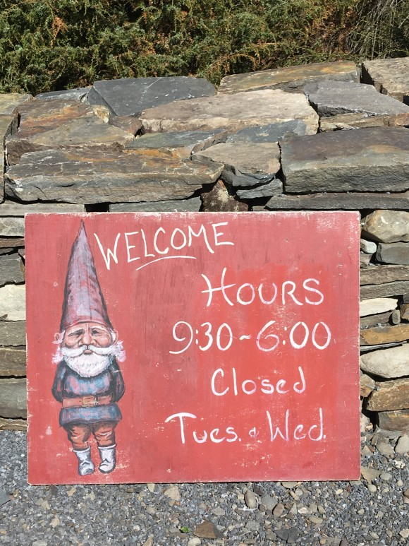 Welcome sign at the Catskills Native Nursery. (Courtesy Catskills Native Nursery)