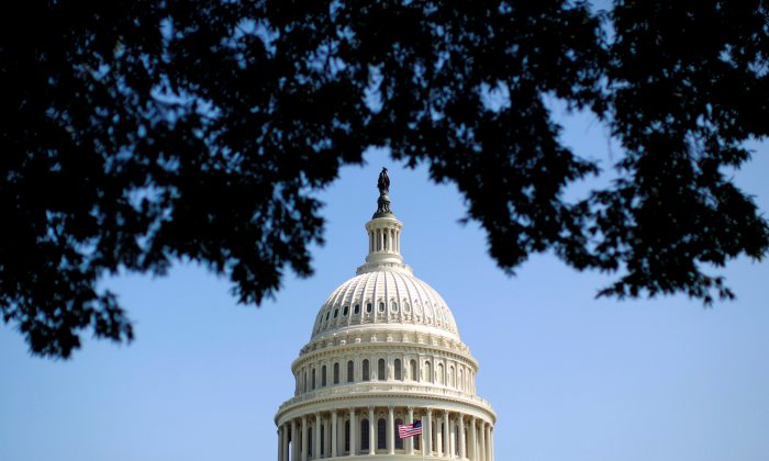 The dome of the U.S. Capitol is seen in Washington on Sep. 25, 2012. (REUTERS/Kevin Lamarque)