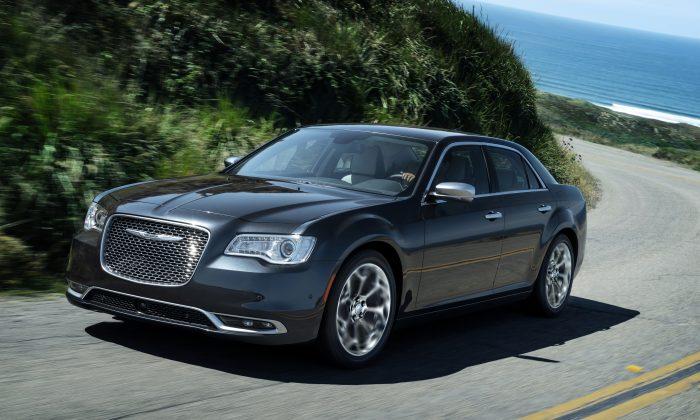 2017 Chrysler 300. (Courtesy of FCA)