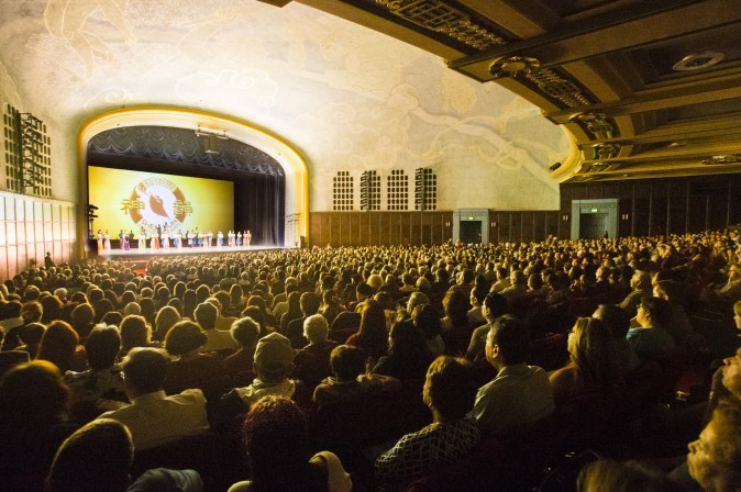 Bridges Auditorium - Pomona College in Claremont, Calif., April 2, 2017. (Debora Cheng/Epoch Times)