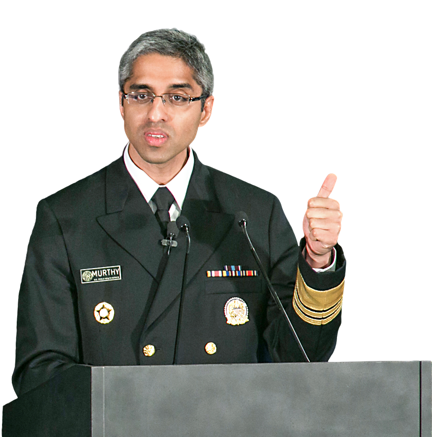 U.S. Surgeon General Dr. Vivek Murthy on March 29, 2016. (JESSICA MCGOWAN/GETTY IMAGES)