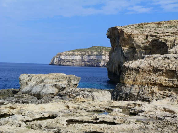 The spot where the Azure Window used to be. (Barbara Angelakis)