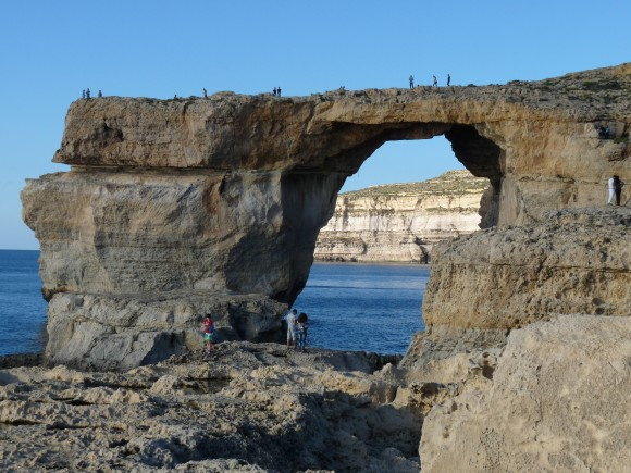 The Azure Window before it collapsed in March 2017. (Barbara Angelakis)