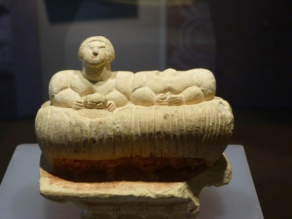 Fertility cult figurine. (Barbara Angelakis)