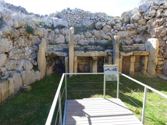 Ggantija Megalithic Temple. (Barbara Angelakis)