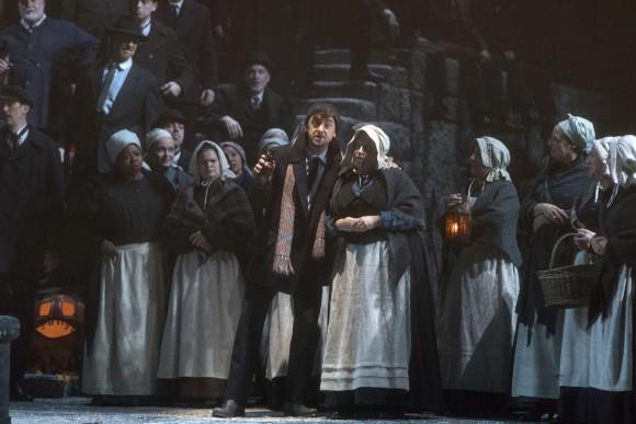 Ben Bliss as Steersman in Wagner's Der Fliegende Holländer. (Richard Termine/Metropolitan Opera)