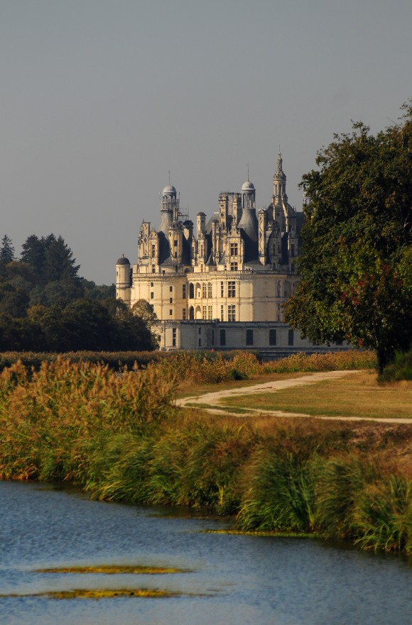 Chambord's roofline is similar to the pinnacles and turrets of Constantinople. (Courtesy of Chateau of Chambord)