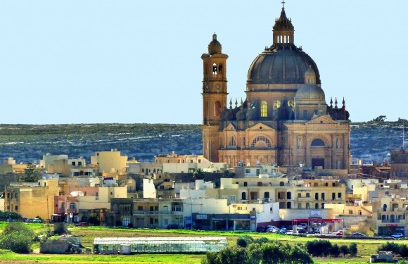 The Church of St. John the Baptist in Gozo boasts the third largest unsupported dome in the world. (Barbara Angelakis)