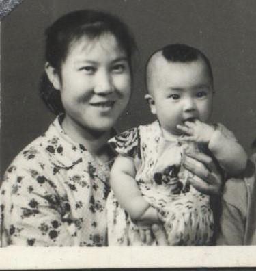 Jennifer and her mother when Jennifer was one-year-old. (courtesy Jennifer Zeng)