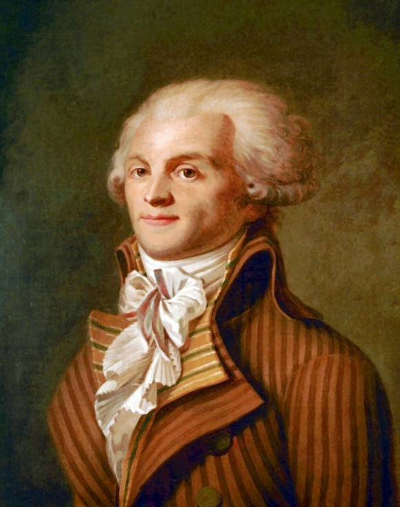 A portrait of Maximilien Robespierre (1758-1794), who led the Reign of Terror in the French Revolution. (Public domain)