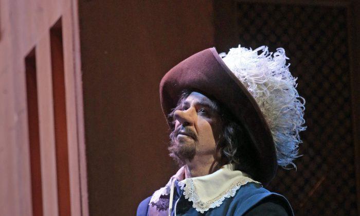 """Roberto Alagna as Cyrano in Franco Alfano's """"Cyrano de Bergerac.""""  (Ken Howard/Metropolitan Opera)"""