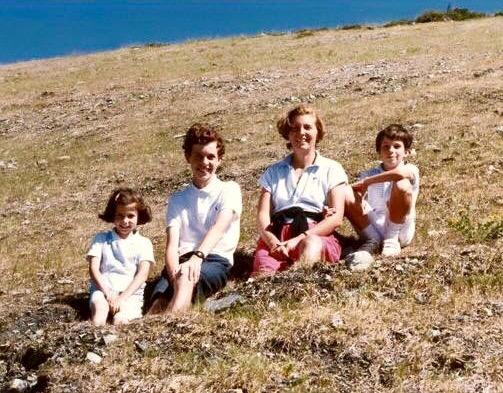 Sibylle Eschapasse and siblings. (Rene-Victor Eschapasse)