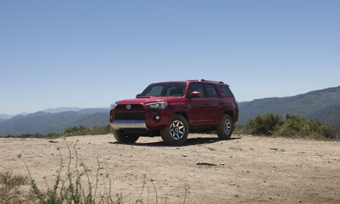 2017 Toyota 4Runner. (Courtesy of Toyota)