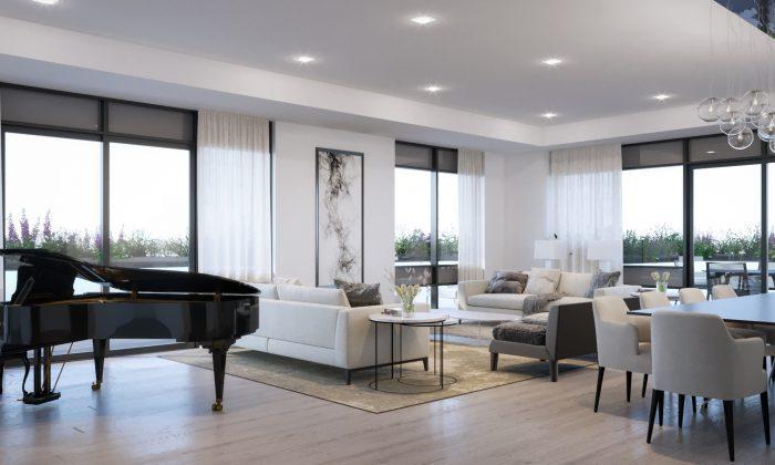 A Stafford Home living room. (Courtesy of Stafford Homes)