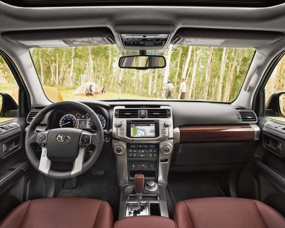 The interior of the 4Runner. (Courtesy of Toyota)