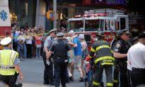 Car Slams Into Times Square Pedestrians, Killing 1, Injuring 22