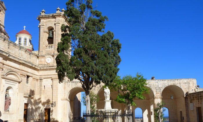 Mellieha Parish Church. (Manos Angelakis)