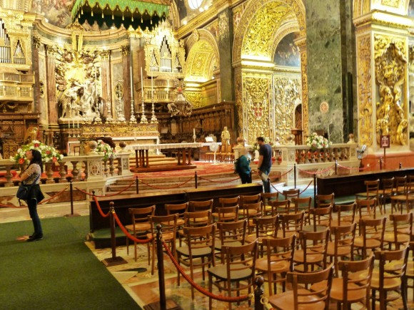 St. John's Co-Cathedral in Valletta. (Manos Angelakis)