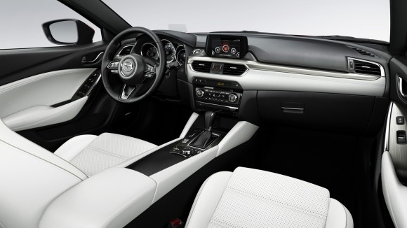 The interior of the 2017 Mazda6. (Courtesy of Mazda)