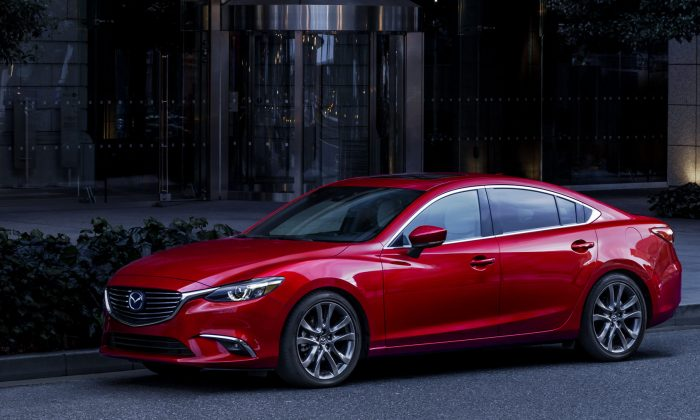 2017 Mazda6. (Courtesy of Mazda)