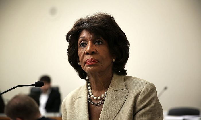Maxine Waters. (Alex Wong/Getty Images)