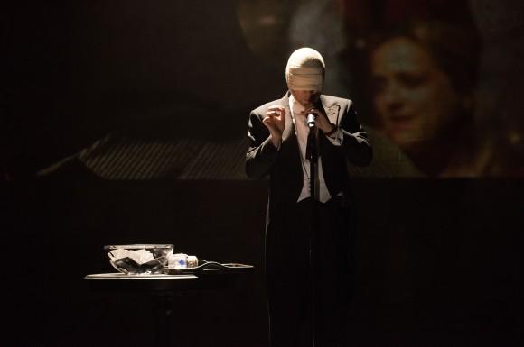"Derren Brown in his flabbergasting show, ""Derren Brown: Secret."