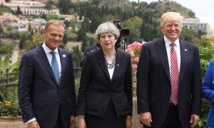 G7 Leaders End Summit More United on Trade, Split on Climate Change