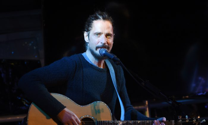 Chris Cornell at EBMRF Benefit on January 14, 2017 in Malibu, California.  (Photo by Kevin Winter/Getty Images for EBMRF)