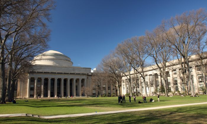 Massachusetts Institute of Technology (MIT), Killian Court and Great Dome in Cambridge, Mass., on April 14, 2017. MIT launched its venture capital fund, The Engine in 2016 and invested $25 million as a limited partner. (andymw91/Flickr/CC BY-SA 2.0)