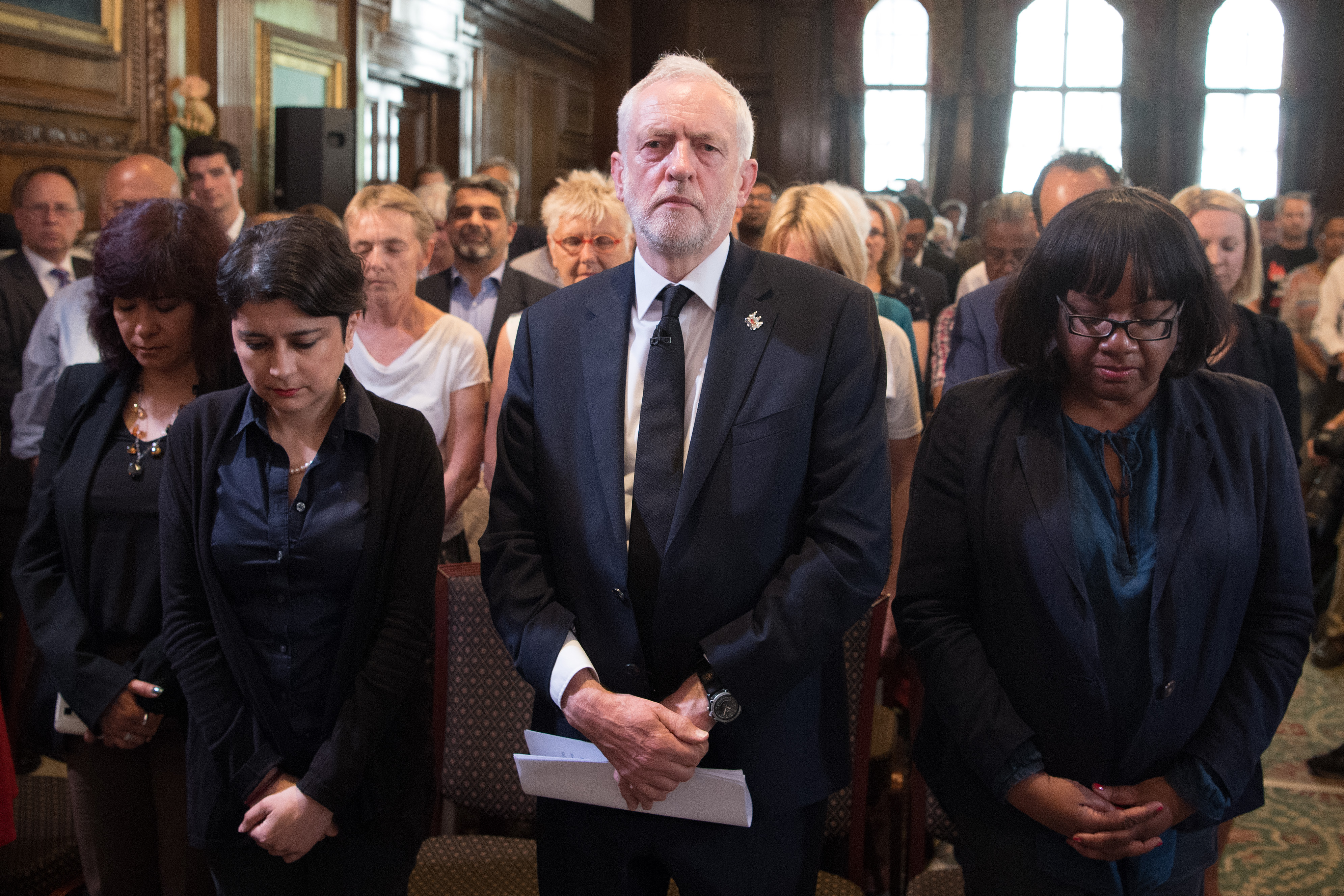 Labour Party leader Jeremy Corbyn. (OLI SCARFF/AFP/Getty Images)