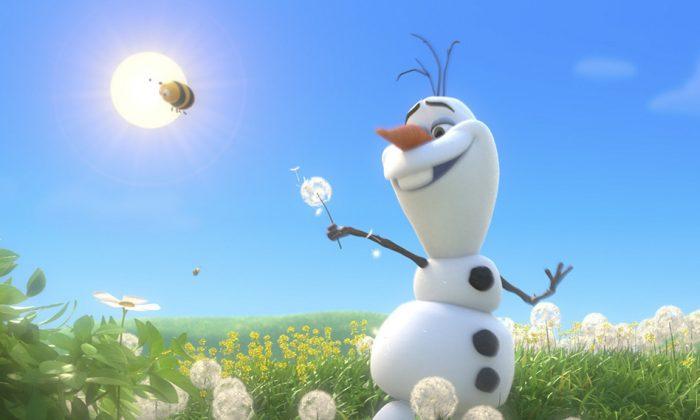 Olaf from the animated film Frozen, produced by Walt Disney Animation Studios. (Disney)