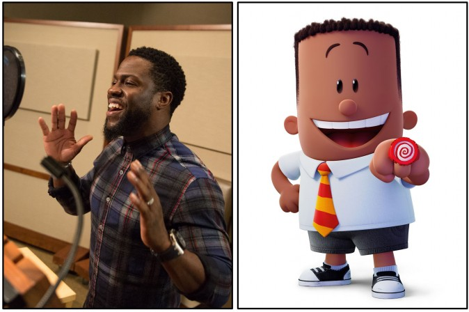 Kevin Hart as the voice of George in