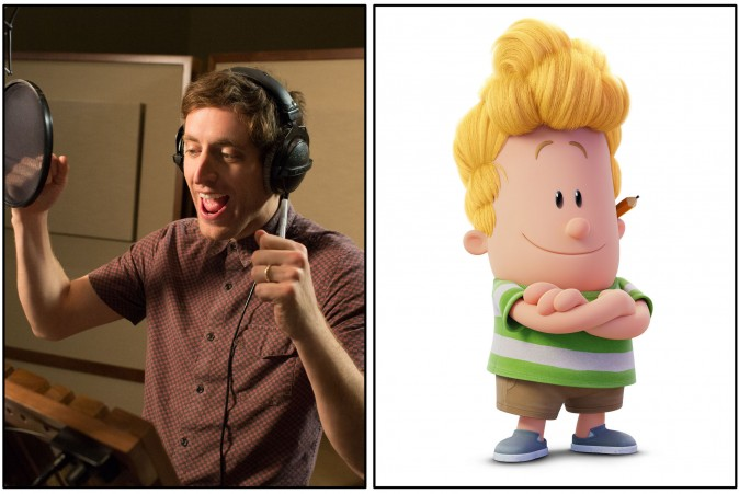 Thomas Middleditch as the voice of Harold in DreamWorks Animation's