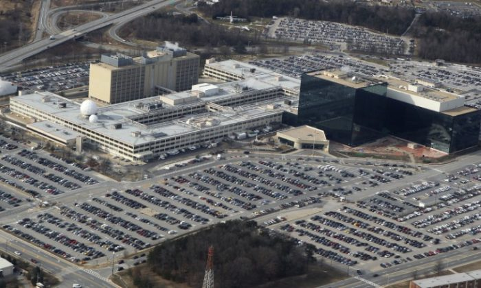 An aerial view of the National Security Agency (NSA) headquarters in Ft. Meade, Maryland on Jan. 29, 2010. (Larry Downing/Reuters)