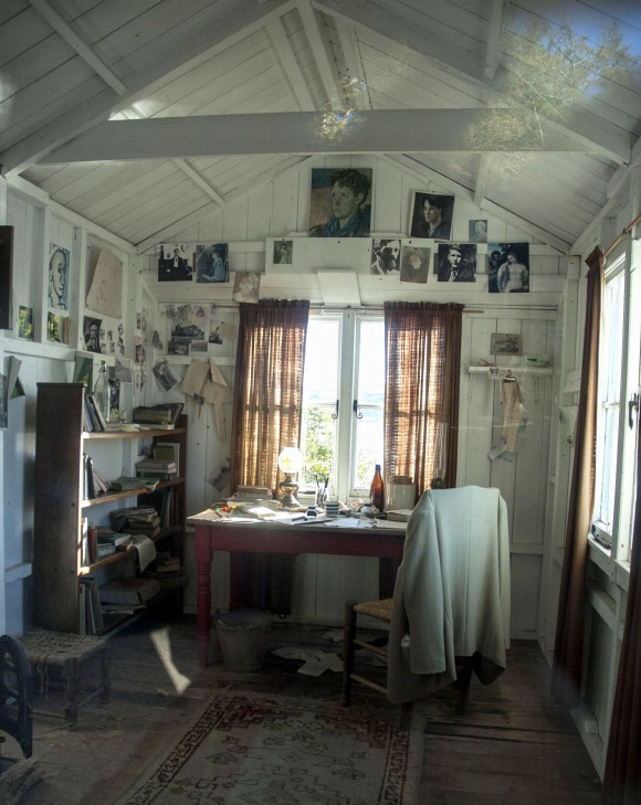 The Writing Shed, where Dylan Thomas penned some of his most inspired pieces. (Carole Jobin)