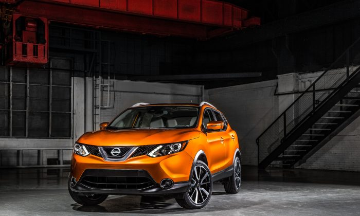 2017 Nissan Rogue Sport. (Courtesy of Nissan Newsroom)