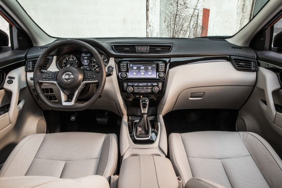 The interior of the Rogue Sport. (Courtesy of Nissan Newsroom)