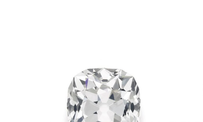 A diamond that was bought for ten pounds at a car boot sale has just sold for £656,750 (Sotheby's)