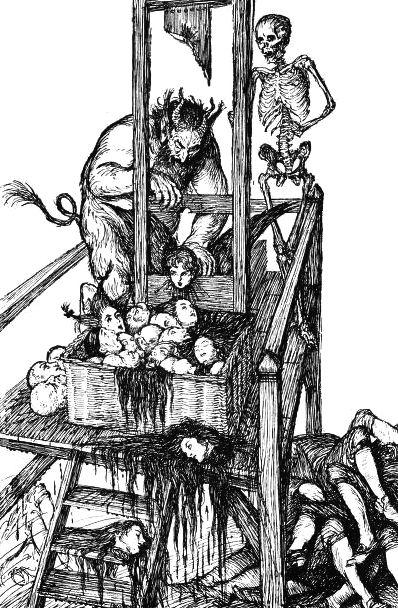An illustration by British book illustrator E.J. Sullivan from