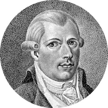Adam Weishaupt (1748–1830), founder of The Order of the Illuminati in Bavaria in 1776.