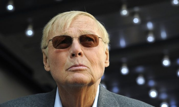 Actor Adam West at a ceremony where he received a star on the Hollywood Walk of Fame in Los Angeles April 5, 2012. (REUTERS/Phil McCarten)