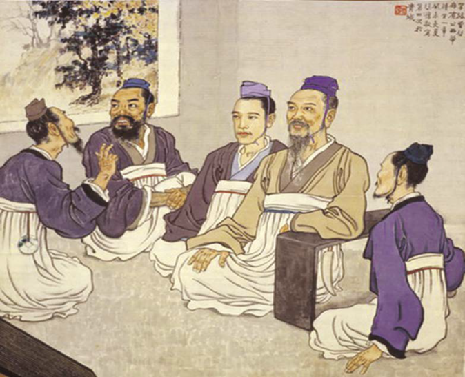 The Prime Minister of Lu State, Ji Wenzi, was known for his thriftiness and strict conduct, and was deeply respected by his people.