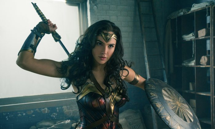 """Gal Gadot as Diana Prince in the action adventure movie """"Wonder Woman.""""  (Clay Enos/ TM & DC Comics)"""