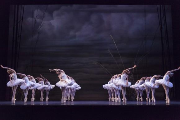 "Artists of the Ballet in the National Ballet of Canada's production of James Kudelka's ""Swan Lake""(Aleksandar Antonijevic)"